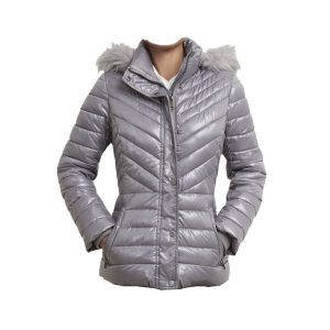 Unique Trimmed Short Puffer Coat - Tapfer