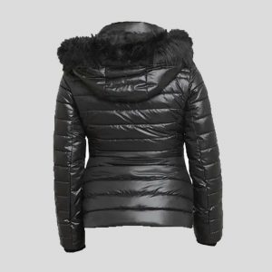 Trimmed Short Puffer Coat for Women – Tapfer