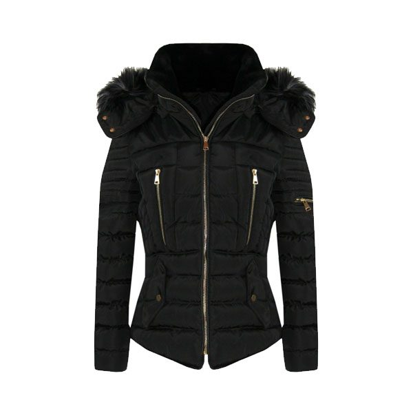New Womens Winter Coat Puffer Fashion Fur Hooded Jacket - Tapfer