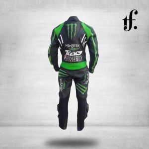 Johan Zarco Yamaha Monster Stye Leather Motogp Suits