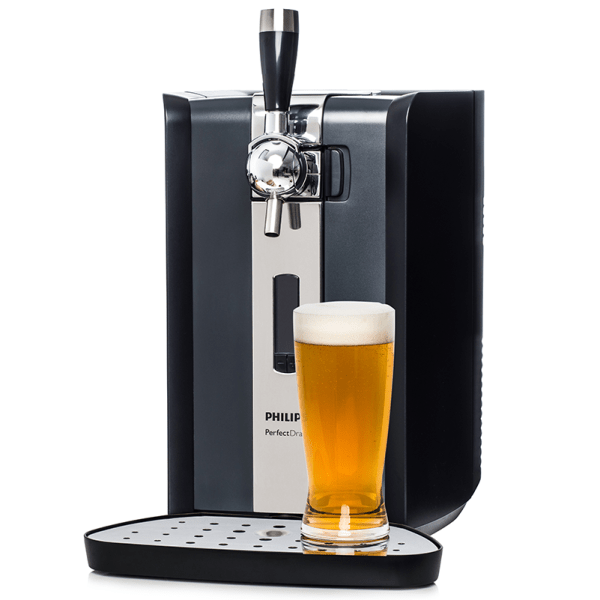 Perfect Draft Dispenser with glass beer