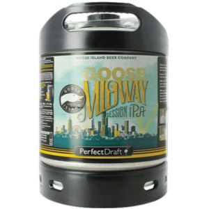 Goose Island Midway Perfect Draft keg