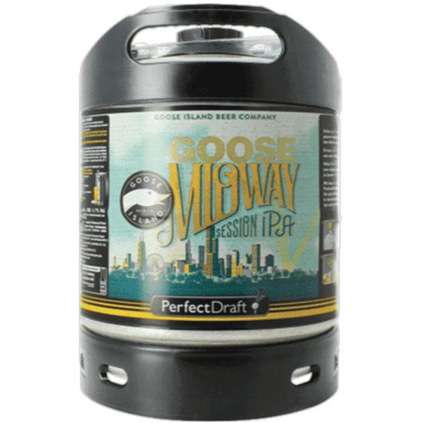 Goose Island Midway Perfect Draft keg