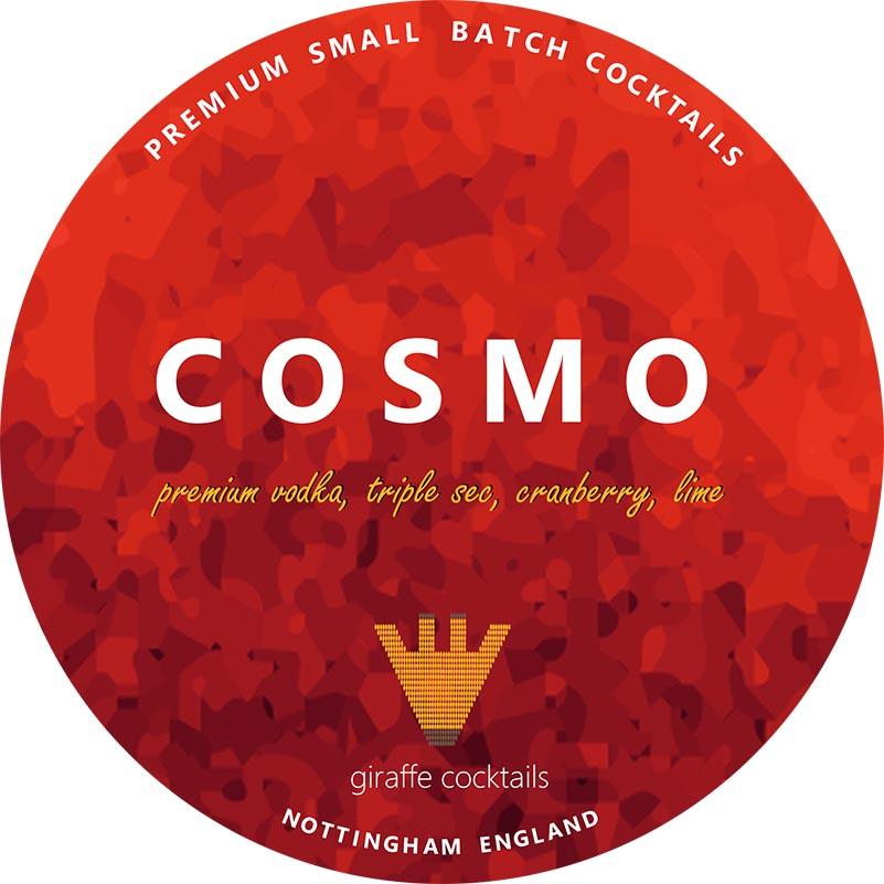 cosmopolitan draught cocktail