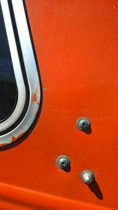 Orange selection of camper shell