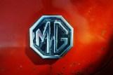 Orange MG close up