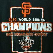 SF Giants 2010 world series