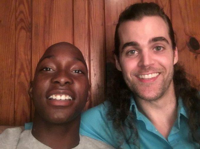 Matt White Meets Chauncy Jones Black At Kroger