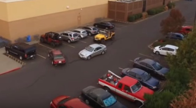 Young Girls Steal Parking Spot At Applebee's, Driver's Revenge Is GOLD