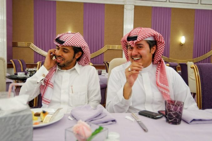 Saudi Groom Reacts After Finally Seeing Under Arranged Wife's Veil