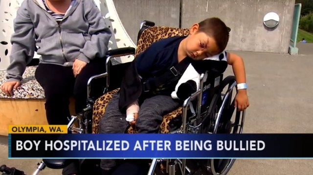 Carter English Confronts Bullies Attacking His Friend, Pays High Price