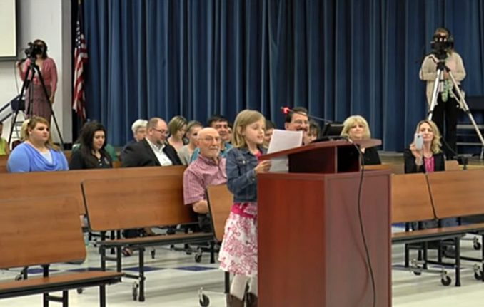 Sydney Smoot Common Core By Asking School Board One Question