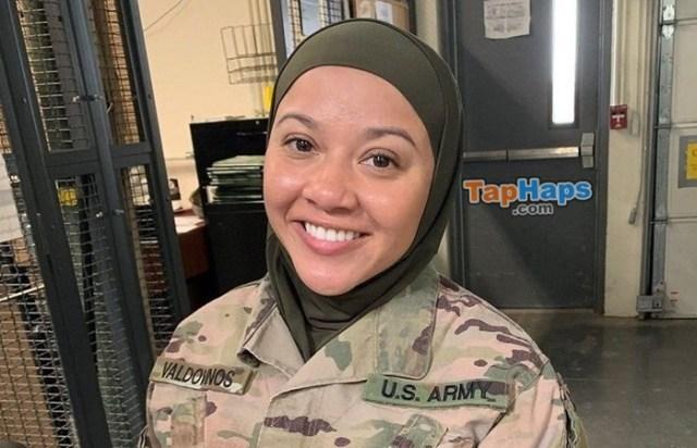 Cesilia Valdovinos Muslim Army Soldier Demands To Wear Hijab