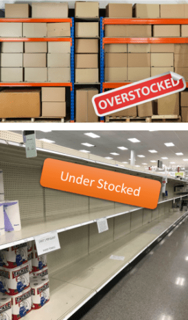 over and under stocked