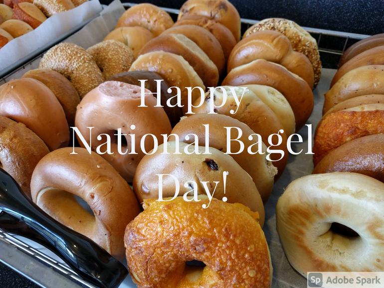 Happy National Bagel Day!!