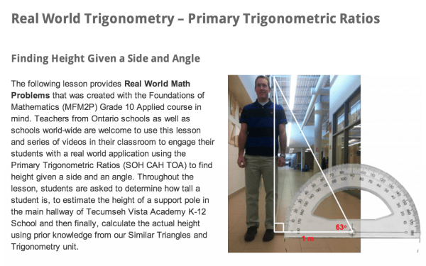 Real World Math | Real World Trigonometry