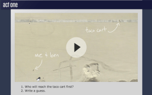 Dan Meyer's Taco Cart Three-Act Math Task