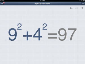 MyScript Calculator - Write On Your Calculator - Even Difficult Calculations