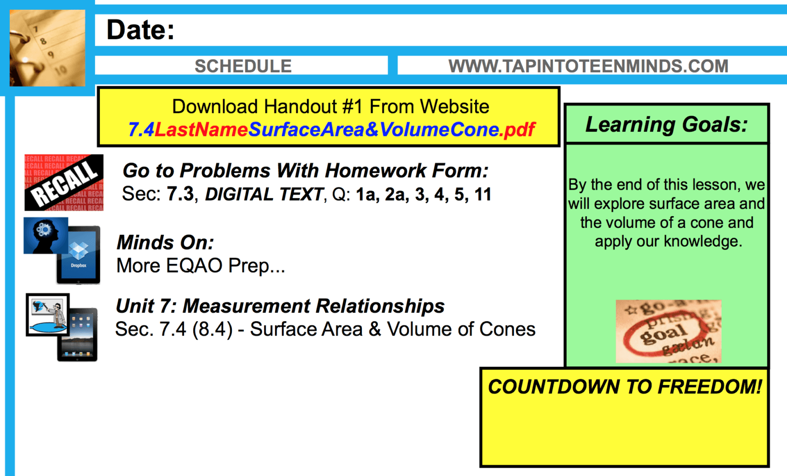 Surface Area And Volume Of A Cone Worksheet Tap Into Teen Minds