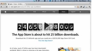 25 Billion Apps - Real World Math Task - Apple App Store