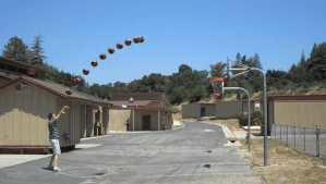Will It Hit The Hoop - Real World Quadratic Equations