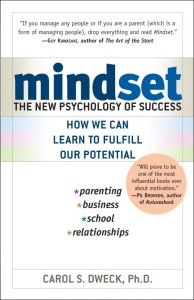 Minset - The New Psychology of Success by Carol Dweck