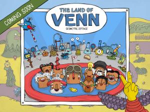 The Land of Venn - Geometric Defense iOS App Coming November