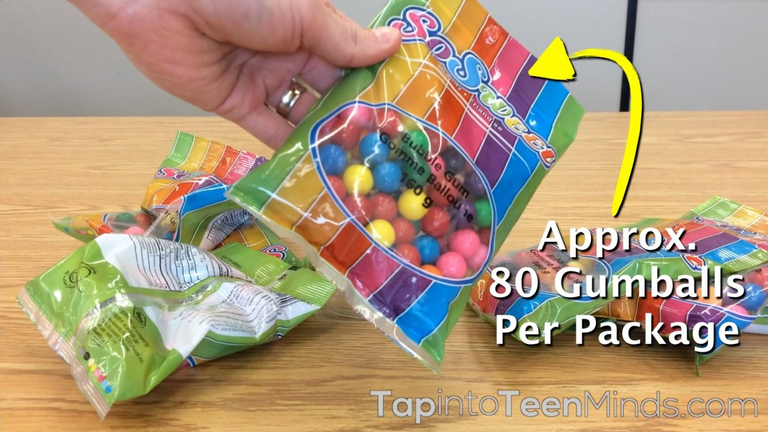 Guessing Gumballs - Act 2 - Number of Gumballs Per Package