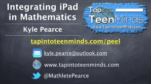 Integrating iPad in Math - Peel District School Board Professional Development