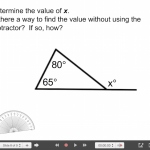 Explain Everything Angle & Triangle Journey (Part 2) 8 Exterior Angle of a Triangle Task
