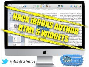 How to Hack iBooks Author HTML 5 Widgets
