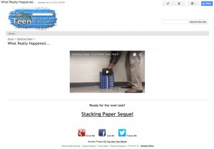 Interactive Math Tasks With Google Sites - Act 3 Video