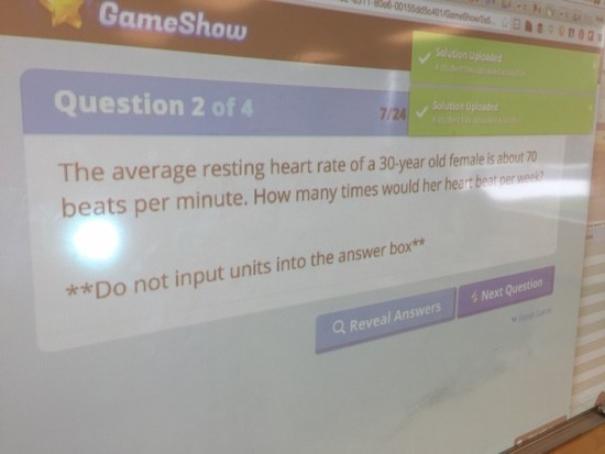 Knowledgehook Gameshow Baby Beats Extension Questions