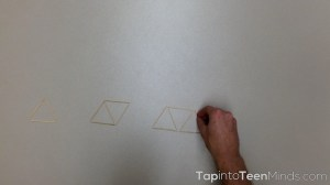 Placing Toothpicks Part 4 - Partial Variation Linear Relations