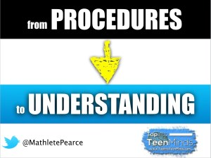 Tips Moving From Math Procedures to Understanding
