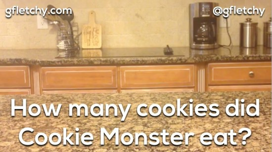 Cookie Monster 3 Act Math Task - Graham Fletcher