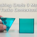 OAME 2016 Making Grade 9 Tasks Contextual