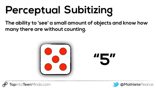 Perceptual Subitizing - Counting Principles