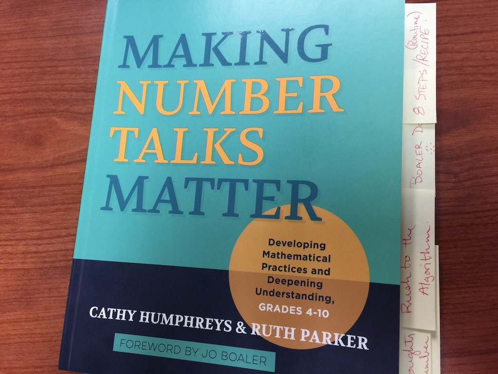 Making Number Talks Matter - Cathy Humphreys and Ruth Parker - Book Review