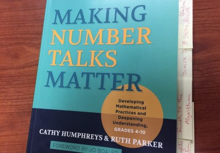 Making Number Talks Matter - Book Cover 1024
