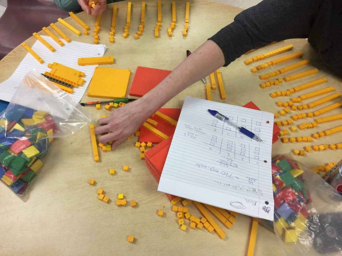 Colchester North Public School Math Professional Learning