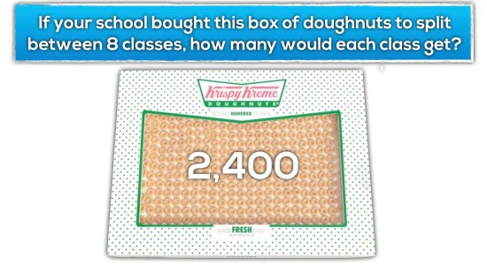 Krispy Kreme Donut Delight Extension 2 - Fair Share Amongst 8 Classes
