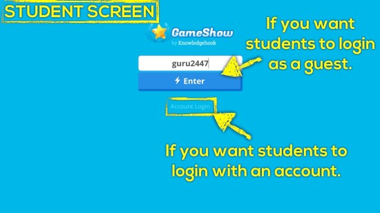 Knowledgehook EQAO Benchmark Tool - Students Login as Guest or With Account