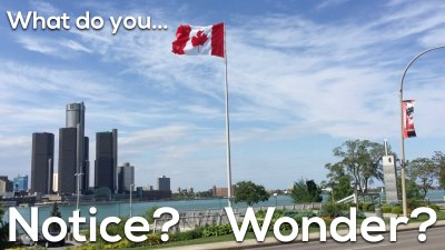 Canada 150 Math Challenge - What Do You Notice and Wonder