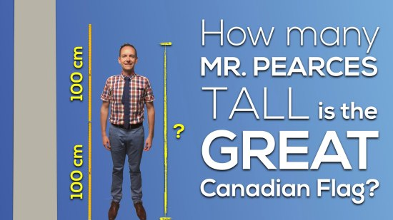 Canada 150 Math Challenge - Update Prediction the Height of Mr Pearce