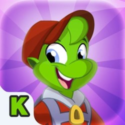 Zorbit Kindergarten Number Sense iOS icon for iPad
