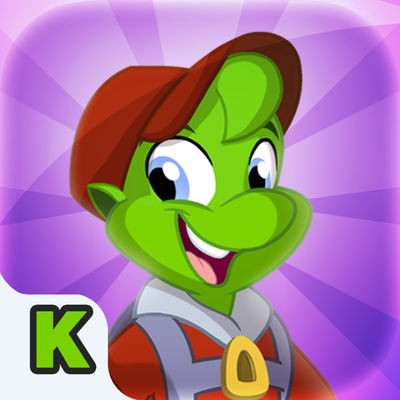 Zorbit Kindergarten Number Sense iOS icon for iPad