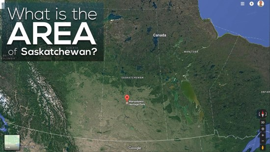 Area of Saskatchewan 3 Act Math What is the Area of Saskatchewan?
