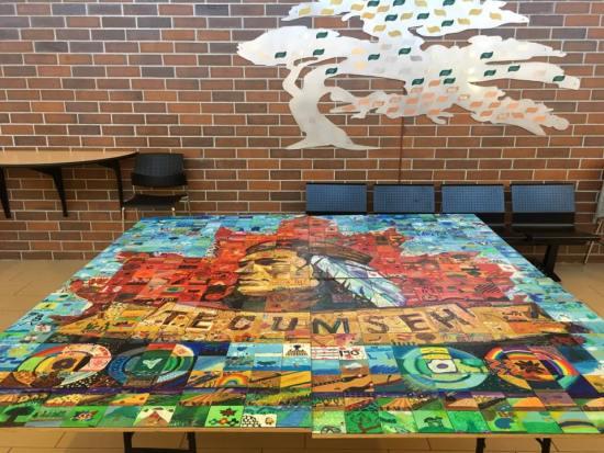 Canada 150 Mosaic - Tecumseh Vista Academy K12