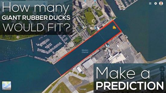 Giant Rubber Duck Sequel - Make a Prediction